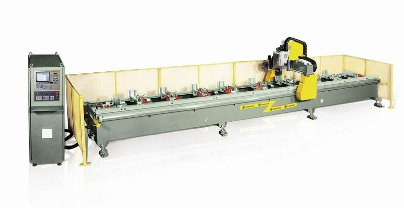 kingtool aluminium machinery durable cheap cnc router in different color for PVC sheets
