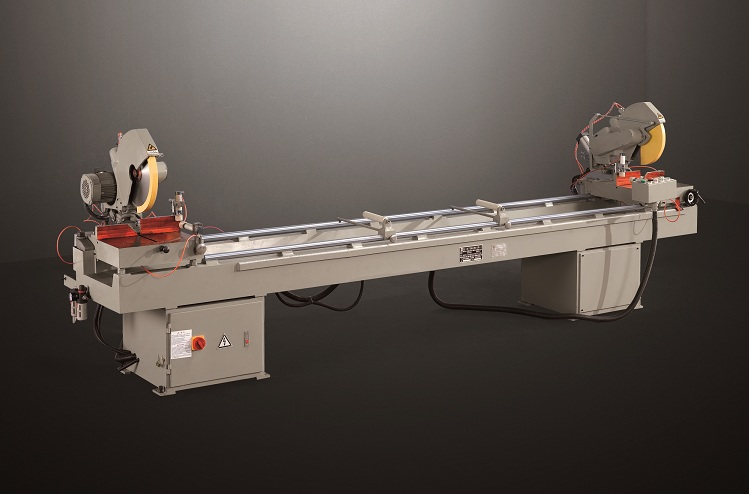 eco-friendly aluminium cutting machine heavy for plastic profile in workshop-1