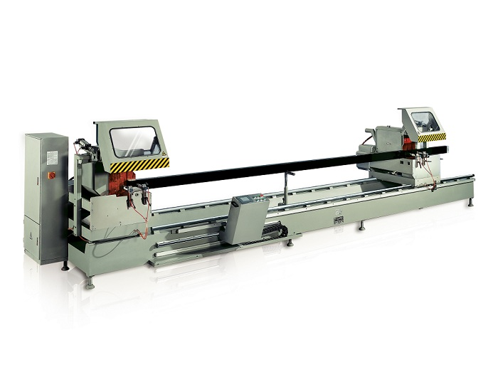 adjustable aluminium cutting machines saw for heat-insulating materials in plant-1
