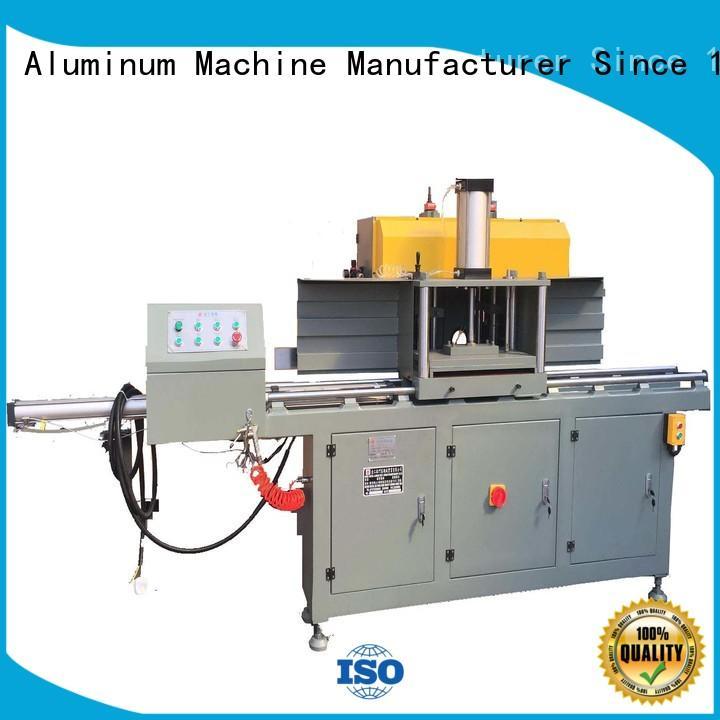 adjustable aluminium cutting machine profile free design for steel plate