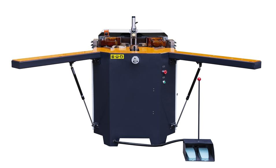 KT-333K Thermal-Break Al Profile Corner Crimping Machine in Heavy Duty