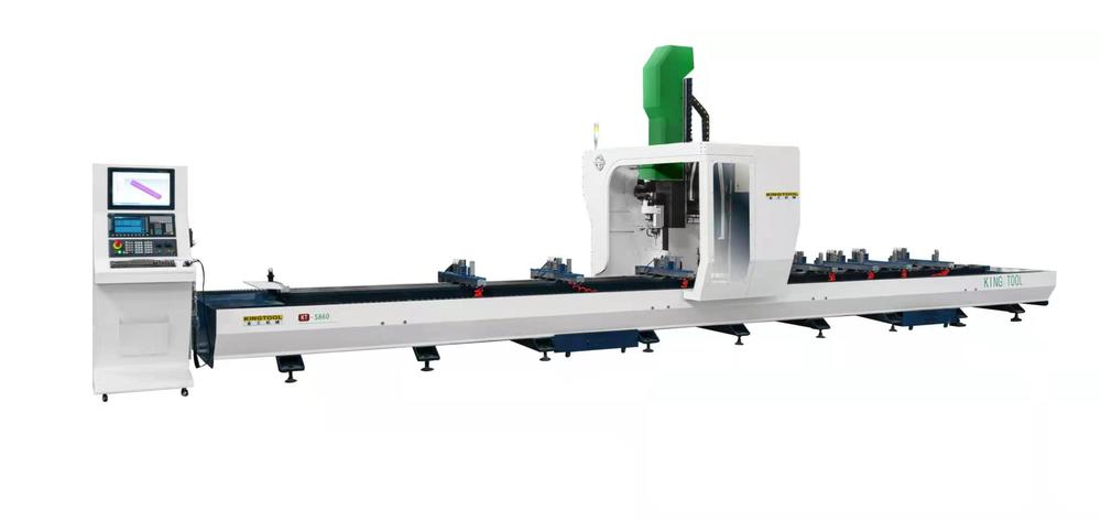 KT-S860 4-Axis CNC Machining Center for aluminum curtian wall