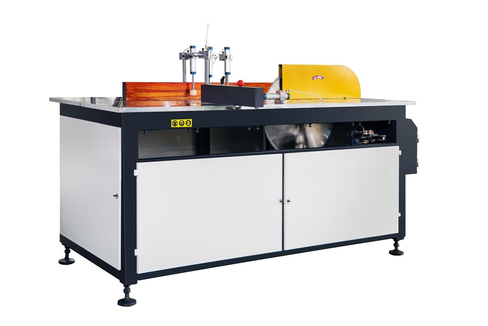 KT-323A/B Manual Single Head Saw Cutting Machine for AL Curtain Wall Profiles