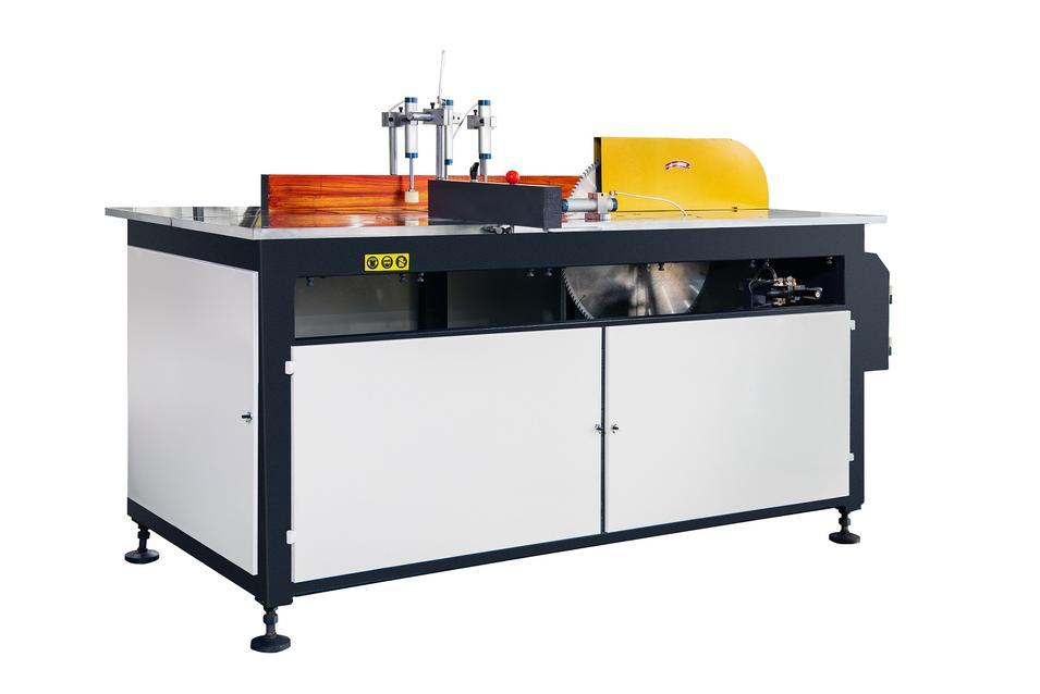 KT-323A/B Manual Single Head Saw Cutting Machine for AL Curtain Wall Profiles