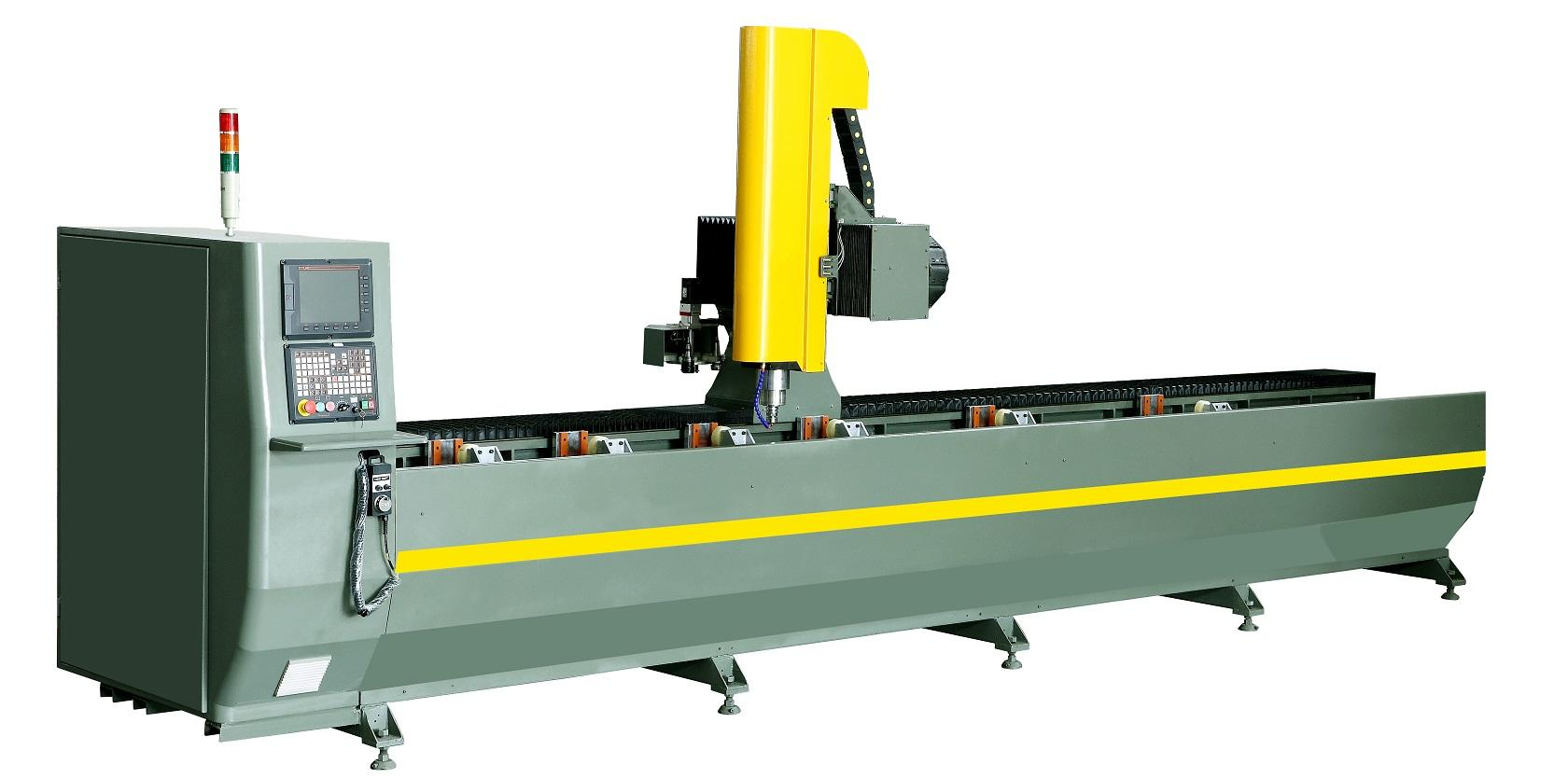 KT-350B-D 3-Axis Profile CNC Machining Center-1