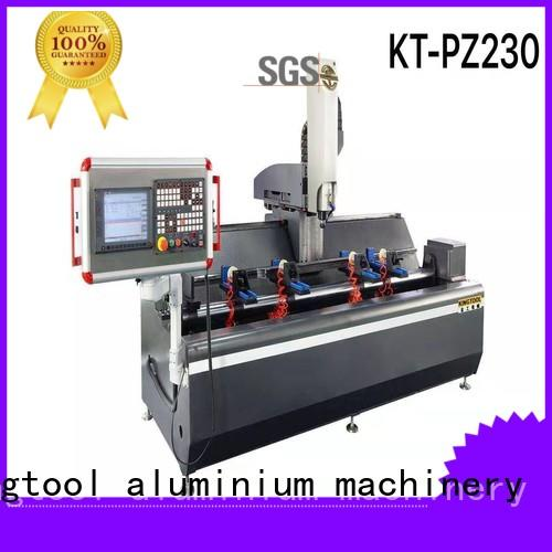 kingtool aluminium machinery easy-operating aluminium profile cutting machine profile for engraving
