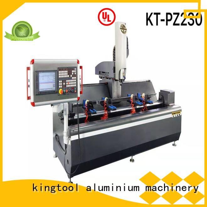 kingtool aluminium machinery aluminum cnc router reviews China manufacturer for PVC sheets