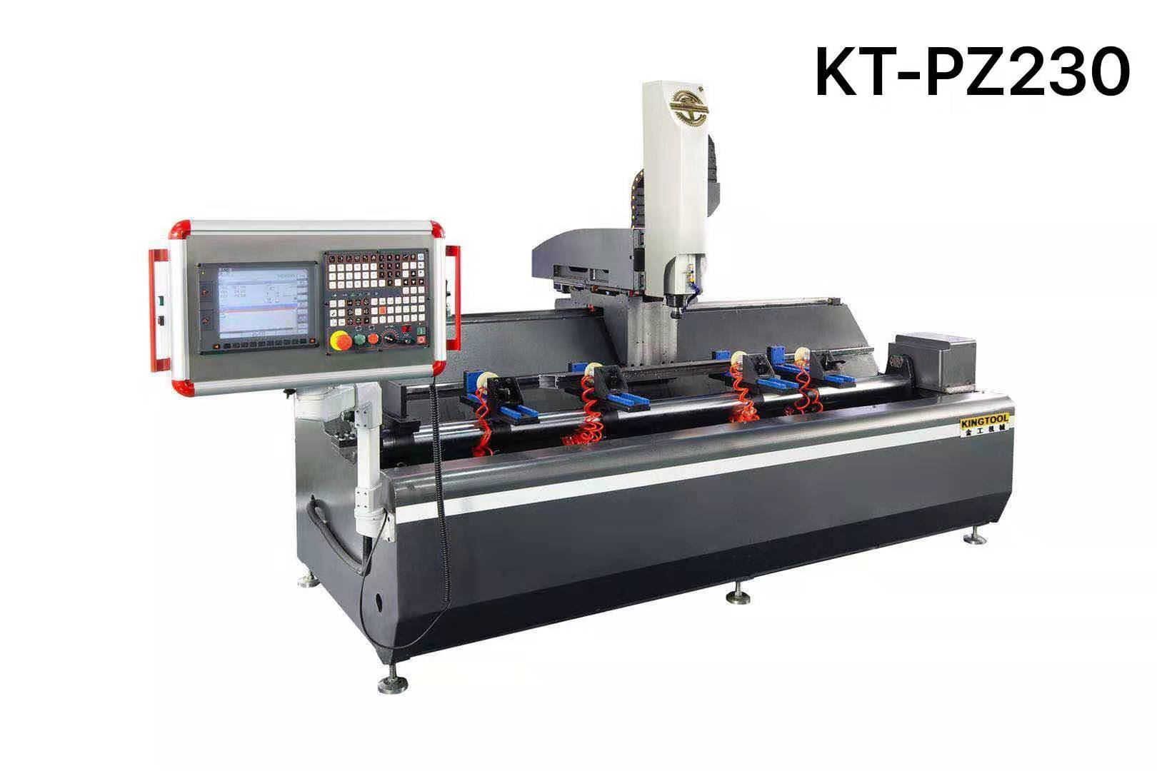 kingtool aluminium machinery easy-operating aluminium profile cutting machine profile for engraving-1