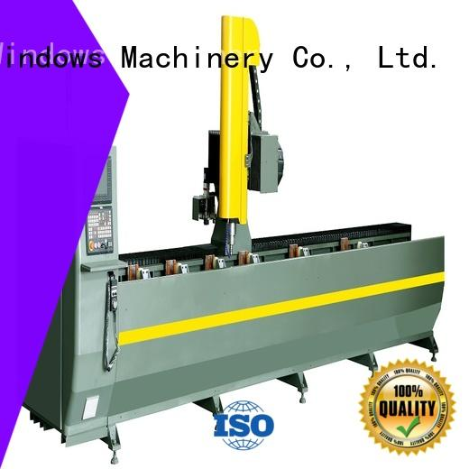 kingtool aluminium machinery stable router machine for aluminum for curtain wall profile in factory