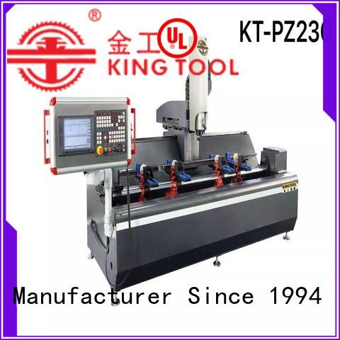 kingtool aluminium machinery profile cnc router machine price factory price for grooving