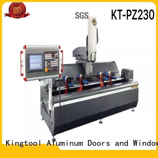 kingtool aluminium machinery durable aluminium cutter machine price bulk production for steel plate