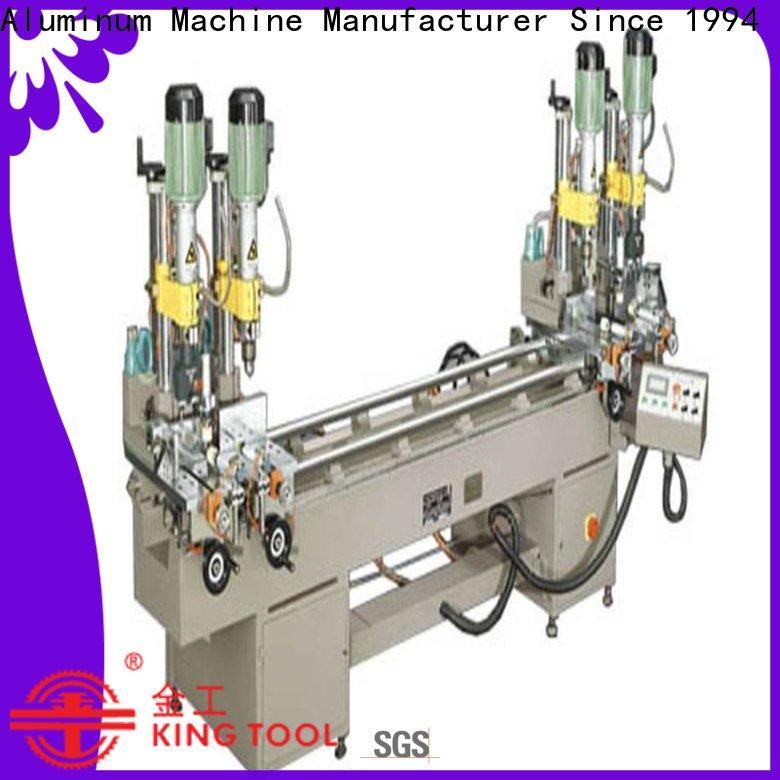 kingtool aluminium machinery material multi head drilling machine inquire now for steel plate