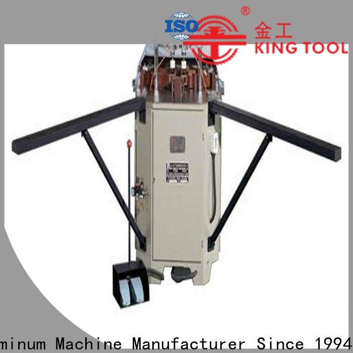 kingtool aluminium machinery doublecorner aluminium crimping machine customization for grooving