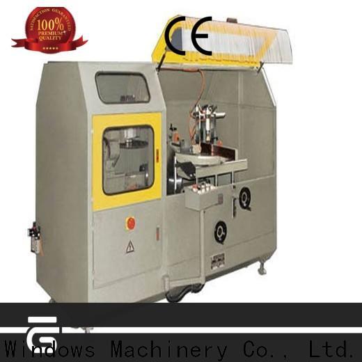kingtool aluminium machinery aluminium aluminum curtain wall profile cutting machine for aluminum profile in factory