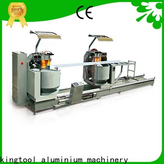 kingtool aluminium machinery stable laser metal cutting machine for aluminum door in factory
