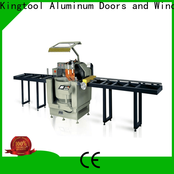 kingtool aluminium machinery adjustable aluminium profile cutting machine for aluminum window in plant