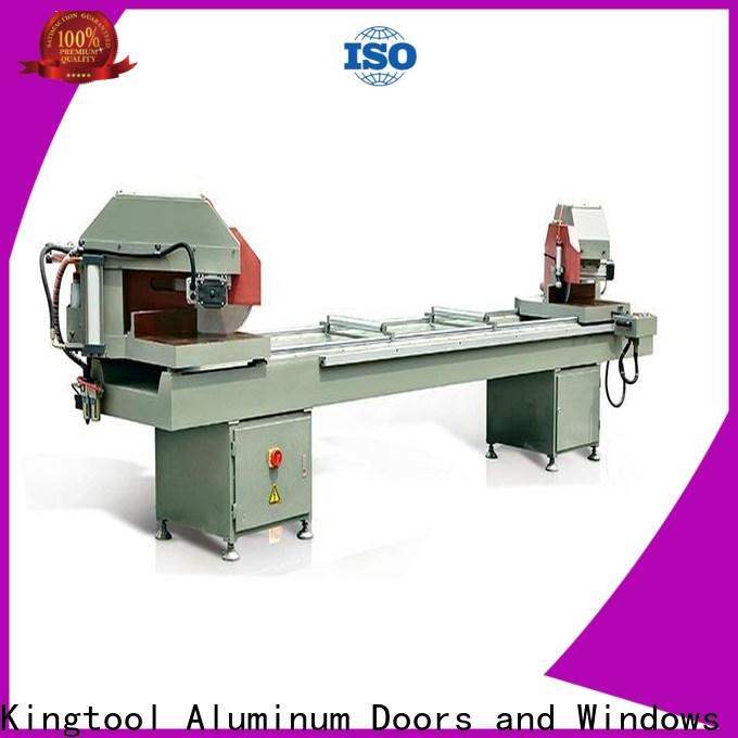 kingtool aluminium machinery machine core cutting machine for heat-insulating materials in factory