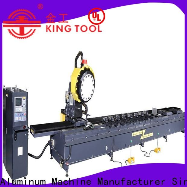 kingtool aluminium machinery press single head saw factory price for tapping