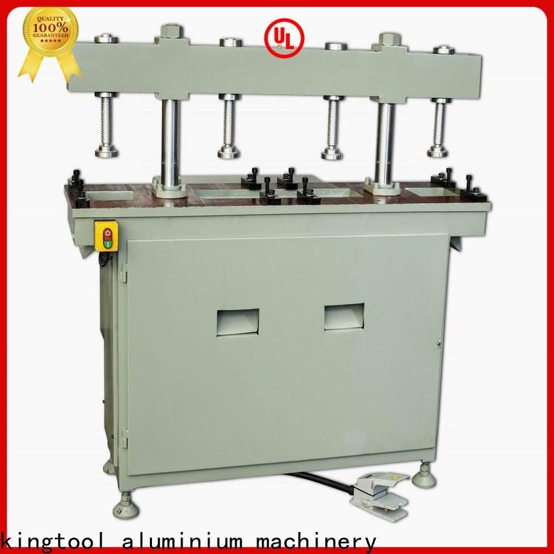 kingtool aluminium machinery steady metal hole punch machine factory price for grooving