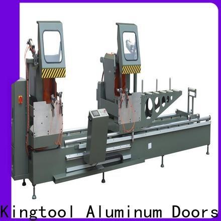 kingtool aluminium machinery inexpensive cnc cutting machine for aluminum window in factory