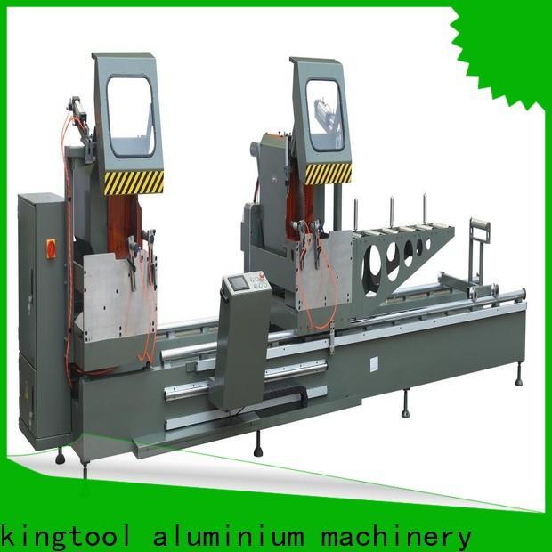 kingtool aluminium machinery easy-operating aluminium cutting machine price for heat-insulating materials in plant
