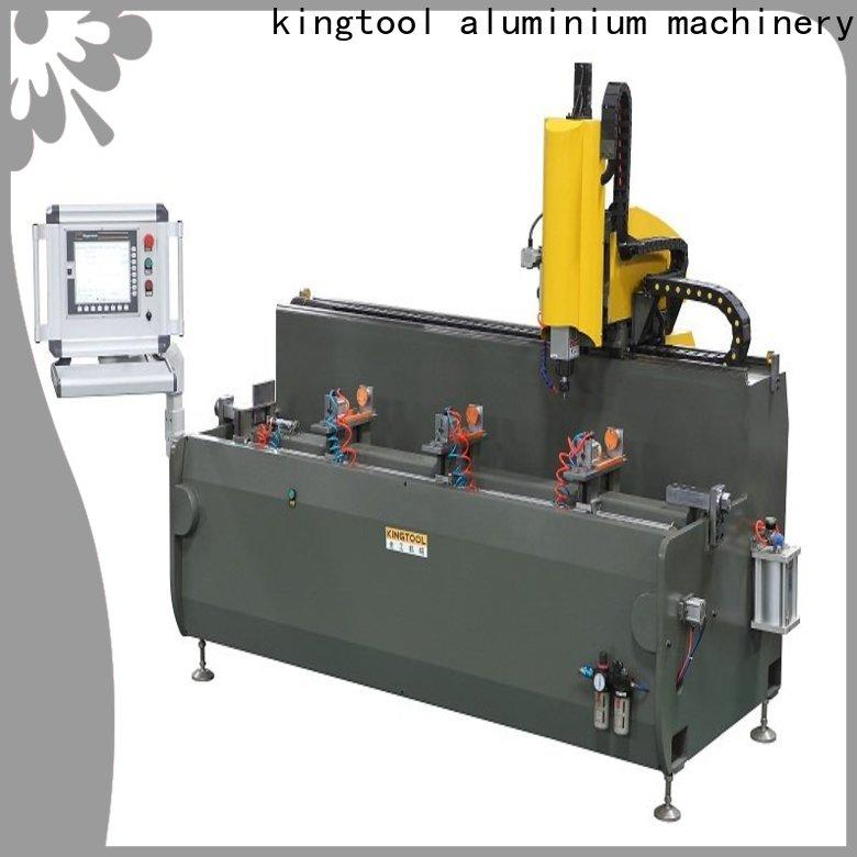 kingtool aluminium machinery drilling cnc router machine for sale in different color for cutting