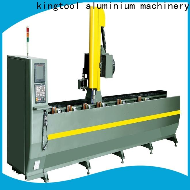 kingtool aluminium machinery cutting 3d cnc router producer for engraving