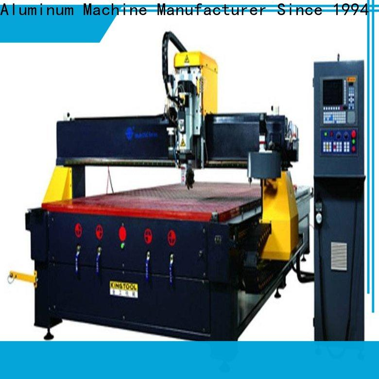 kingtool aluminium machinery durable Aluminium CNC Router in different color for milling