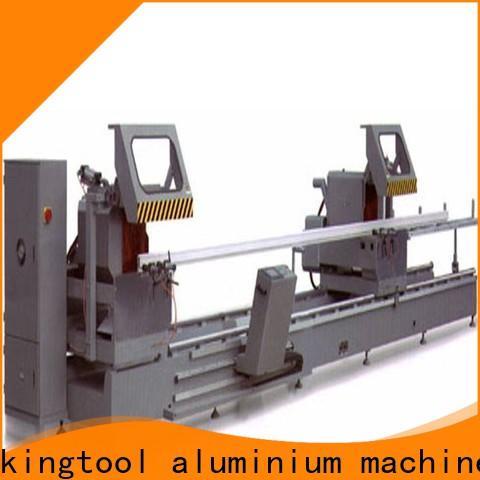 kingtool aluminium machinery head aluminium cutting machines for heat-insulating materials in workshop