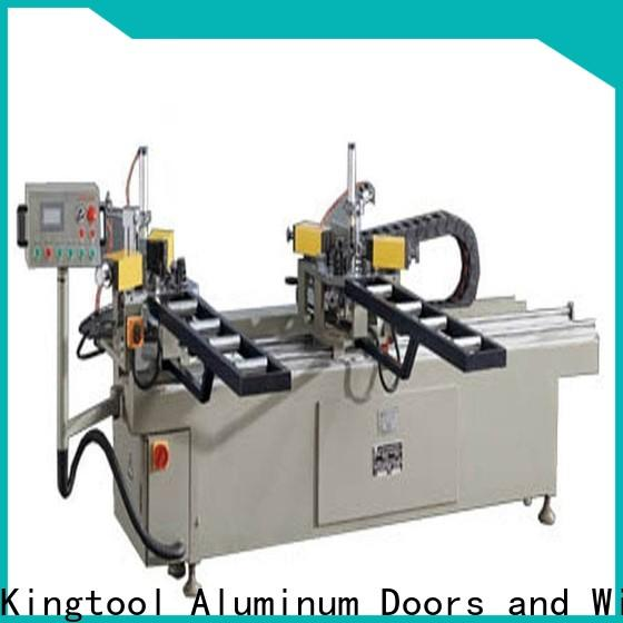 kingtool aluminium machinery easy-operating aluminium crimping machine customization for tapping