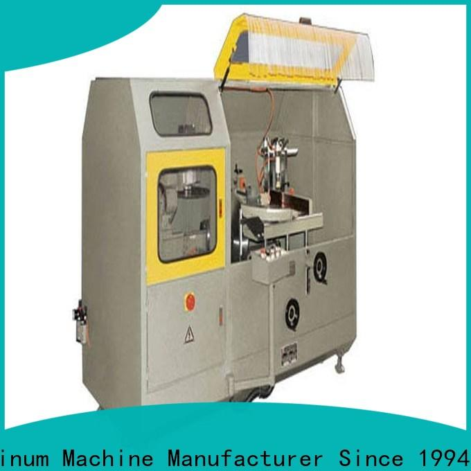 kingtool aluminium machinery aluminium fabrication machinery for aluminum profile in workshop