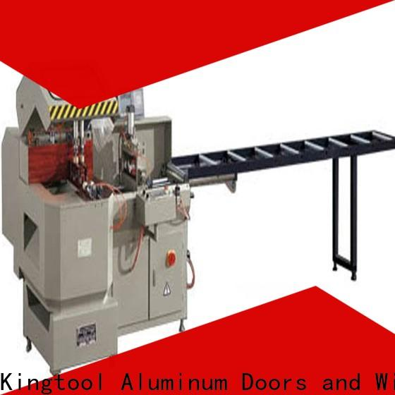 kingtool aluminium machinery multifunction aluminium sheet cutting machine for curtain wall materials in factory