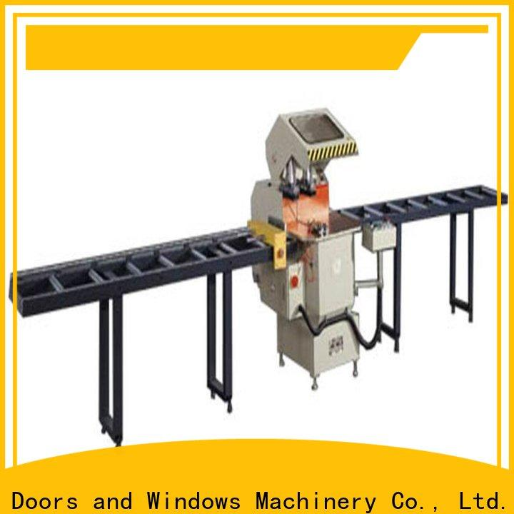 kingtool aluminium machinery stable automatic aluminium cutting machine for plastic profile in workshop