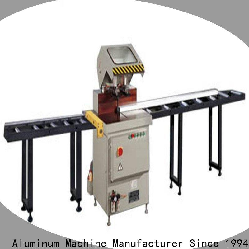 stable types of cnc machine readout for aluminum door in plant