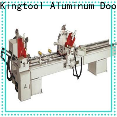 kingtool aluminium machinery cutting electronic cutting machine for aluminum curtain wall in plant