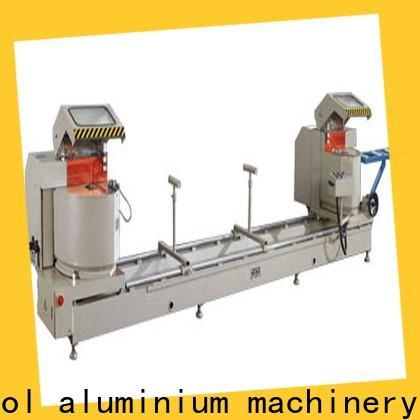 kingtool aluminium machinery best-selling aluminium cutter for aluminum curtain wall in factory