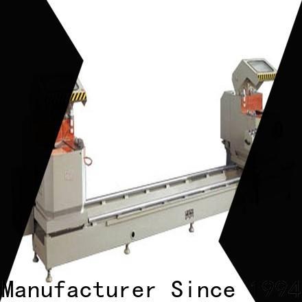 kingtool aluminium machinery eco-friendly aluminium section cutting machine for aluminum door in plant