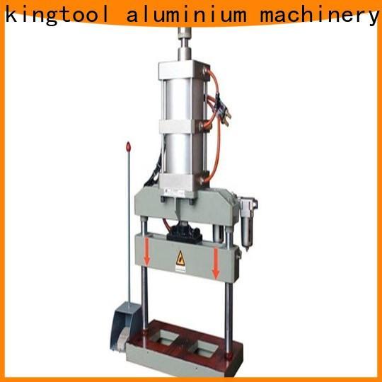kingtool aluminium machinery accurate window door punching machine free design for tapping