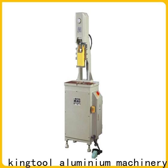 kingtool aluminium machinery durable aluminum hydraulic punching machine free design for tapping