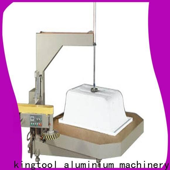kingtool aluminium machinery inexpensive sanitary aluminum cutting machine customization for PVC sheets