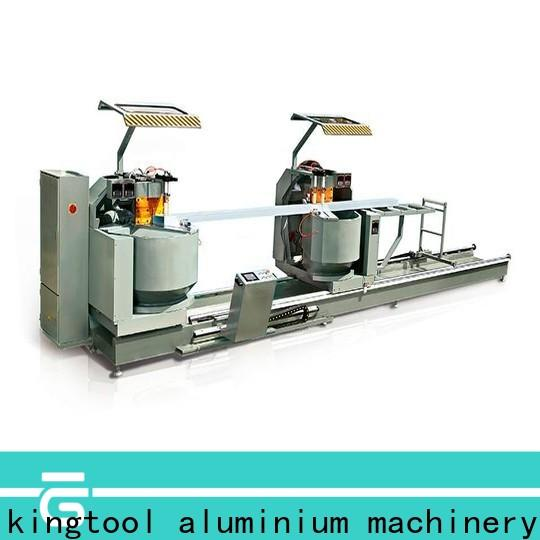 kingtool aluminium machinery inexpensive cutting machine price for heat-insulating materials in workshop