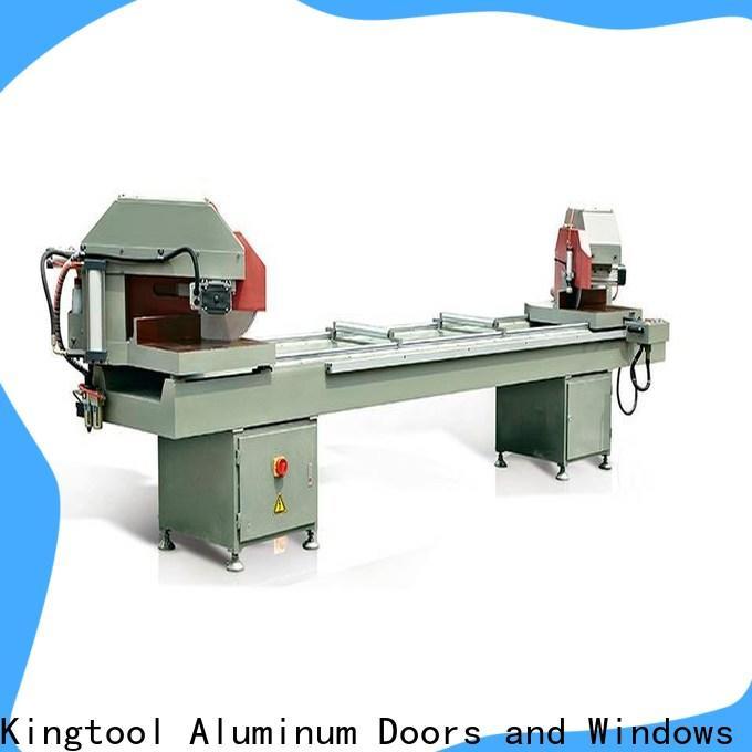 kingtool aluminium machinery best types of cnc machine for heat-insulating materials in factory