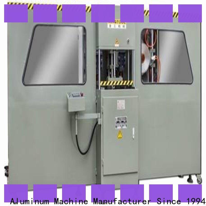 kingtool aluminium machinery best aluminium composite milling machine in different color for cutting