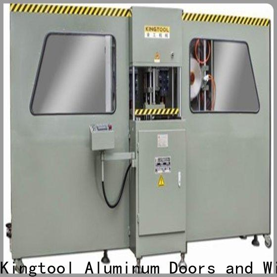kingtool aluminium machinery durable curtain wall machine free quote for grooving