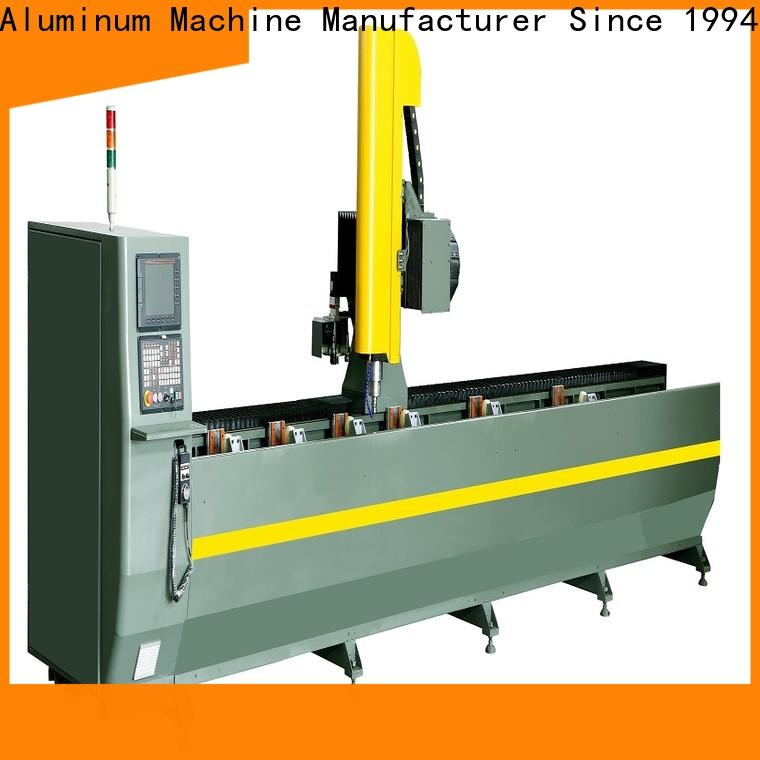 kingtool aluminium machinery profile affordable cnc router in different color for milling