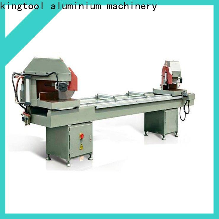 adjustable aluminum cutting machine saw for aluminum curtain wall in workshop