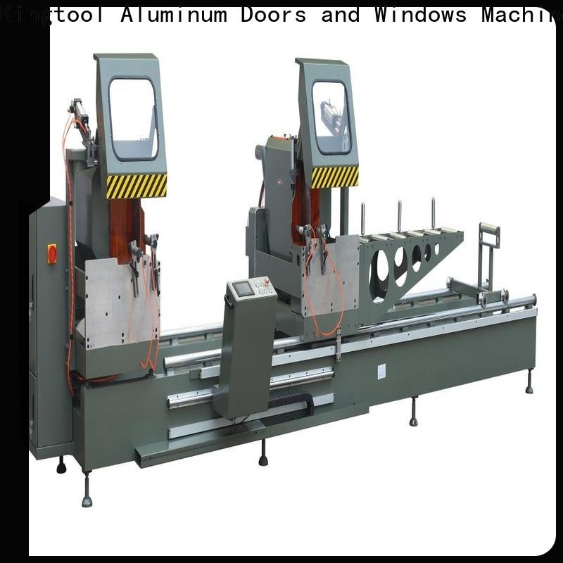 stable core cutting machine window for aluminum window in plant