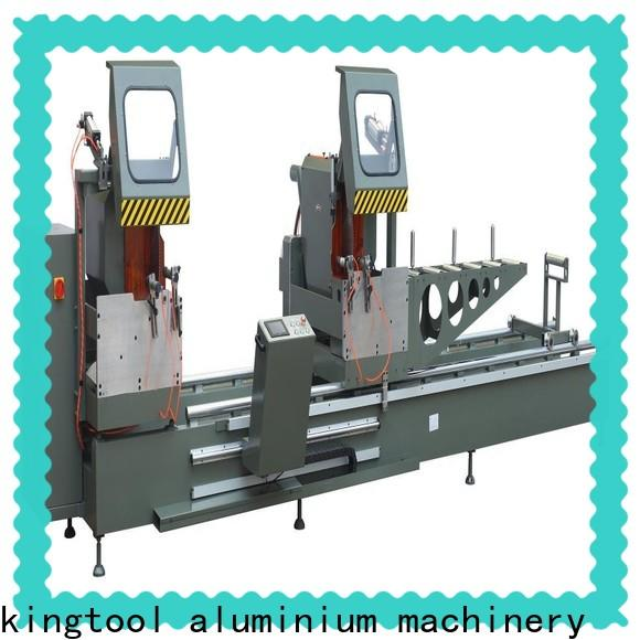 kingtool aluminium machinery mitre core cutting machine for plastic profile in workshop