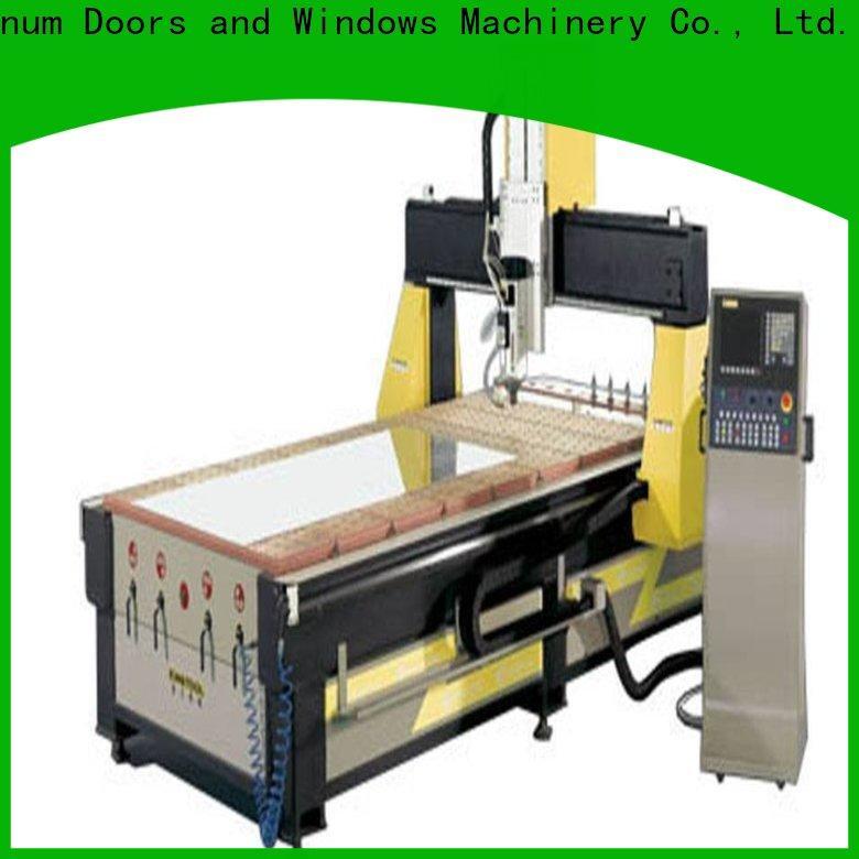 kingtool aluminium machinery profile cnc router machine China factory for PVC sheets