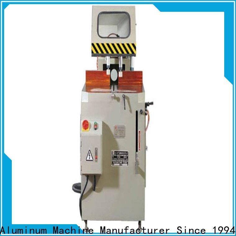 kingtool aluminium machinery eco-friendly aluminum cutting machine for aluminum curtain wall in workshop